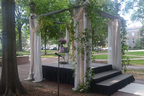 wedding ceremony arbor outdoors arbor trellis pergola