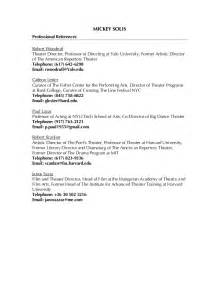 List Of Professional References Template Professional References List