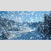 Downloads: Animated Snow Scene Gif