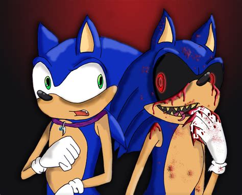 Sonic A 12 E sonic vs sonic exe by piddies0709 on deviantart