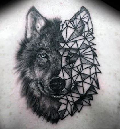 imagenes abstractas de lobos 25 mejores im 225 genes de tatuajes de lobos tatuajes para