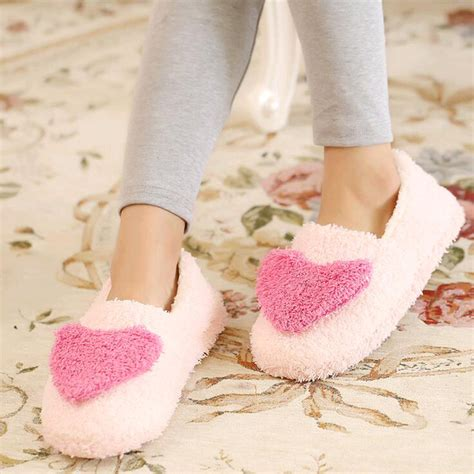 warm house slippers women love house slippers 2016 hot plush warm home slippers thermal indoor slipper for