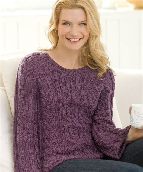 free knitting sweater patterns cable knit sweater patterns a knitting
