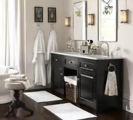 Pottery Barn Kids Bathroom Ideas Houlton Double Sink Console Traditional Bathroom
