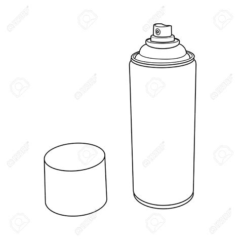 spray paint can dimensions spray paint can drawing spray paint can drawing