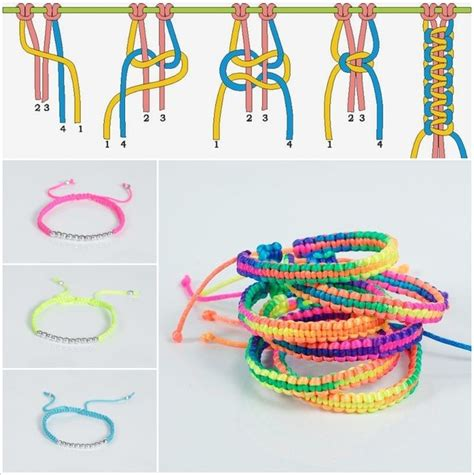 Macrame For Beginners - macrame bracelet for beginners macrame y manualidades
