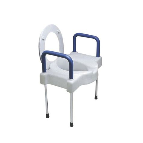 340mm wide toilet seat ableware 725881000 725882000 wide ette elevated