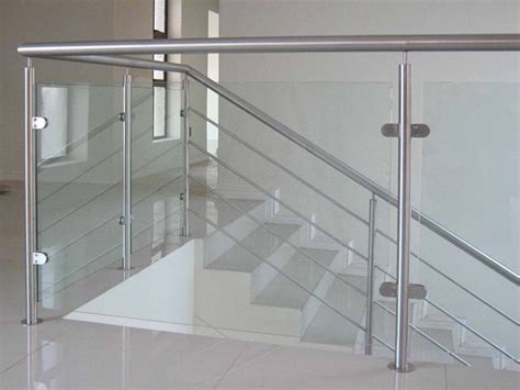 stainless steel banisters stair railing wall mounted side mounting rail system buy
