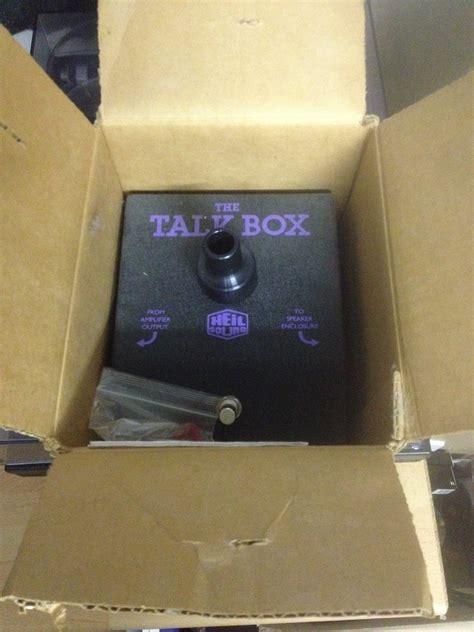 Dunlop Ht1 Heil Talk Box dunlop heil talkbox ile de audiofanzine