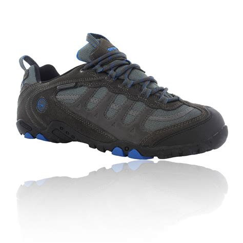 Hi Walk Outdoor Shoes hi tec penrith low mens black waterproof outdoors walking