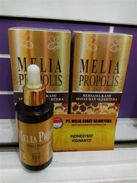 Propolis Melia Kemasan Baru melia propolis isi 55ml kemasan baru harga hemat