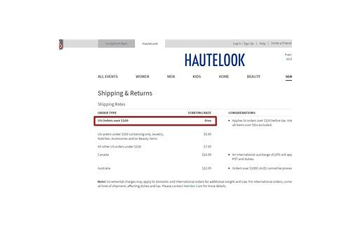 hautelook coupons free shipping