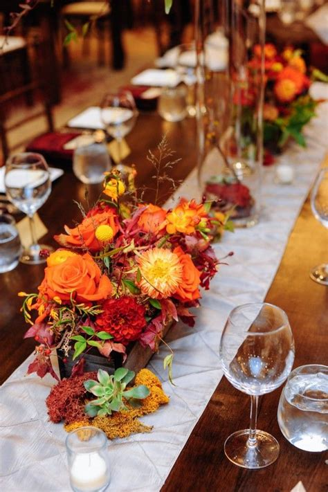 25 best ideas about rustic fall centerpieces on