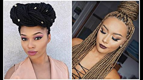 Black Braided Hairstyles 2017 by Black Hairstyles Braids 2017 Hairstyle Haircut Today