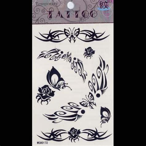 temporary tattoo paper national bookstore tattoo stick papers 200pcs temporary tattoos paper black