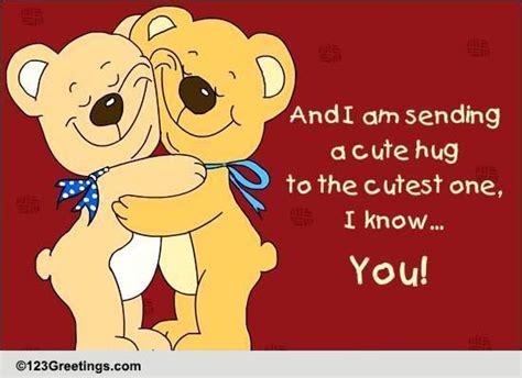 send a cute hug free cute hugs ecards greeting cards