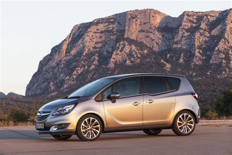 opel meriva 2014 2014 opel meriva facelift revealed autoevolution