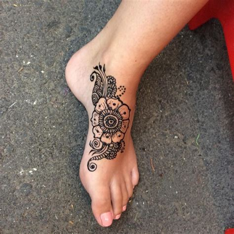 henna style foot tattoo 59 henna designs ideas design trends premium