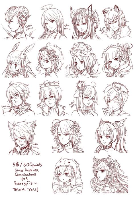 anime hairstyles ideas 81 best anime hairstyles images on pinterest anime art