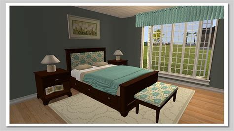 sims 2 bedroom sets mod the sims pottery barn cynthia bedroom sims 2