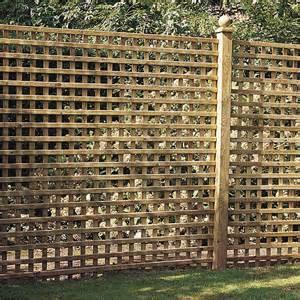panneau treillis bois ajour 233 castille l 180 cm x h 180 cm