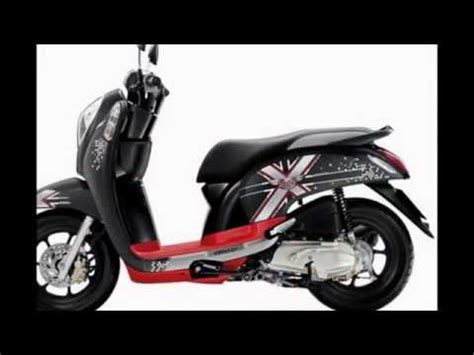 Lu Hid Motor Scoopy projector retrofit honda scoopy mh1 and 40w hpl funnydog tv