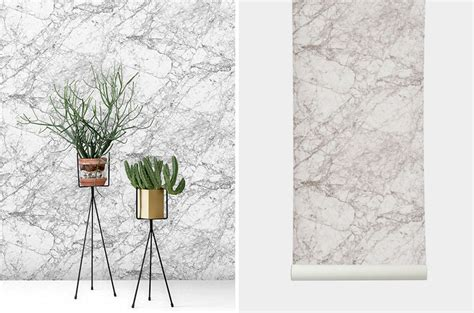 Modern Home Decor The Marble Marble Wallpaper For Your Modern Home Modern Home Decor