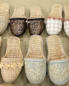 abaca slipper embellished slippers martha stewart