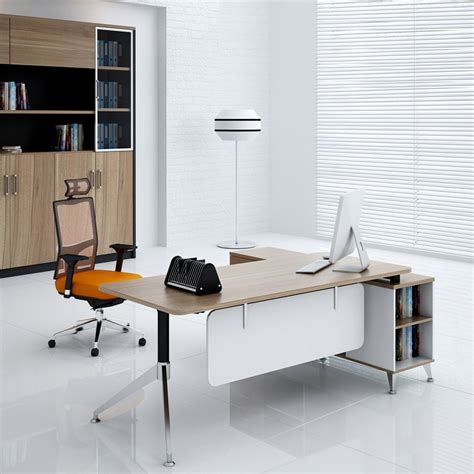 simple office furniture made in china melamine board