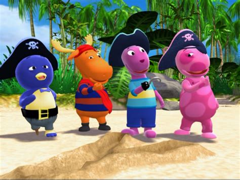 Backyardigans Original Cast Image Pirate Treasure Cast Jpg The Backyardigans Wiki