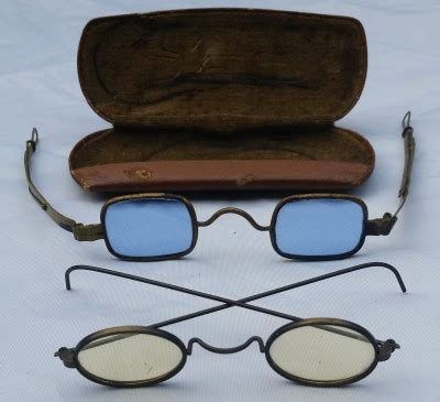 two pair 19th c eyeglasses