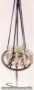 air plant hangers industrial indoor pots and planters