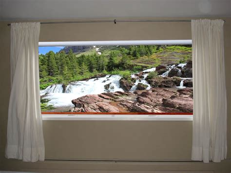 california picture shade imagine your window with an awesome view custom printed window