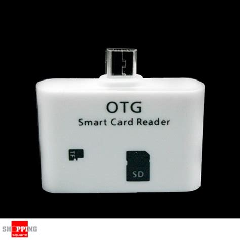 Robot Micro Usb Otg Smart Card Reader Connection Kit Memori Car T19 6 micro usb otg smart card reader connection kit for samsung galaxy s3 s4 note1 2 3 tab 3 white