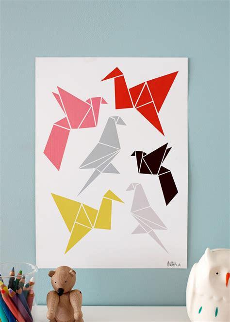 Origami Poster - origami poster myartistikboard