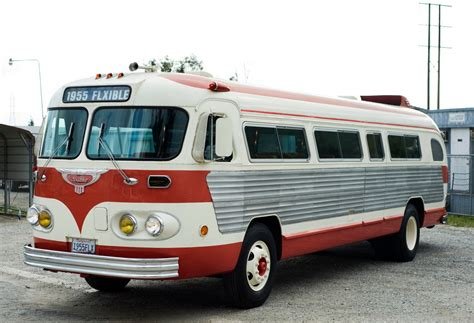 couch buses 1955 flxible highway coach rental epicturecars