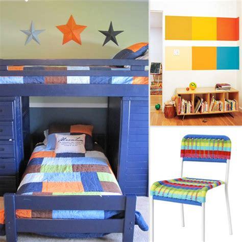 colorblocked room decor popsugar