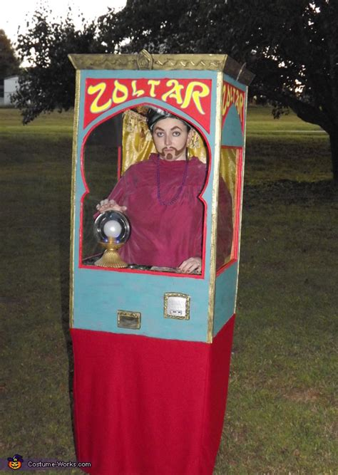zoltar fortune telling machine costume