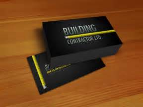construction business card professional construction business card psdbucket