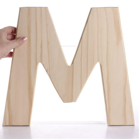 free shipping pine wooden letter quot h o m e quot 4 piece unfinished bold wood letter m word and letter cutouts