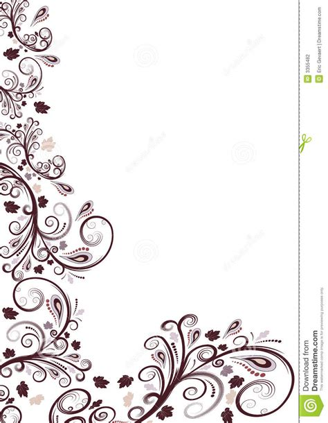 flower pattern vector border free vector flower file page 3 newdesignfile com