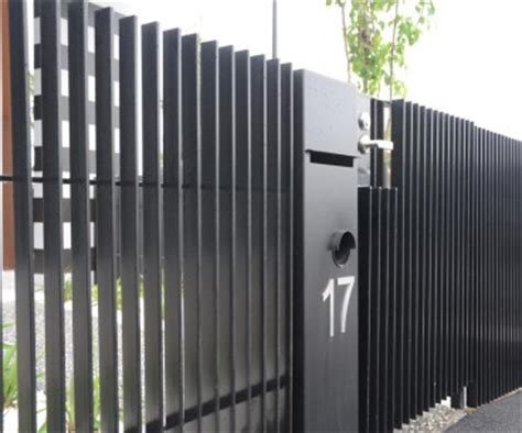 aluminium slat fence sf4004, aluminium slat fence