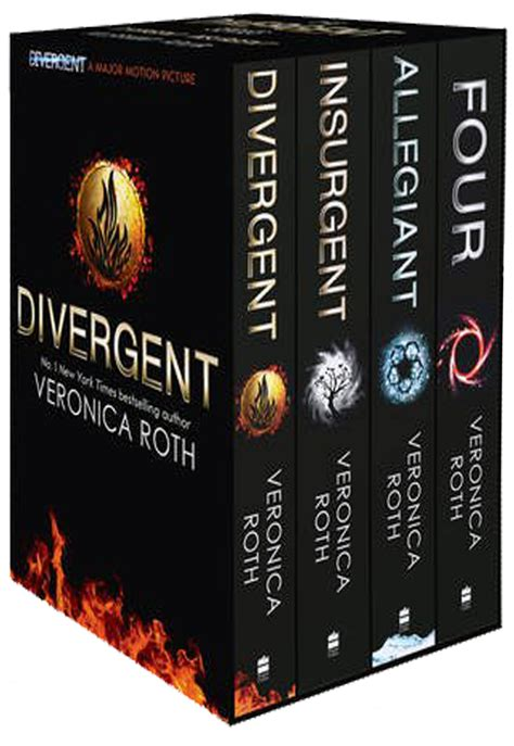 the the trilogy books roth divergent insurgent allegiant trilogy 4