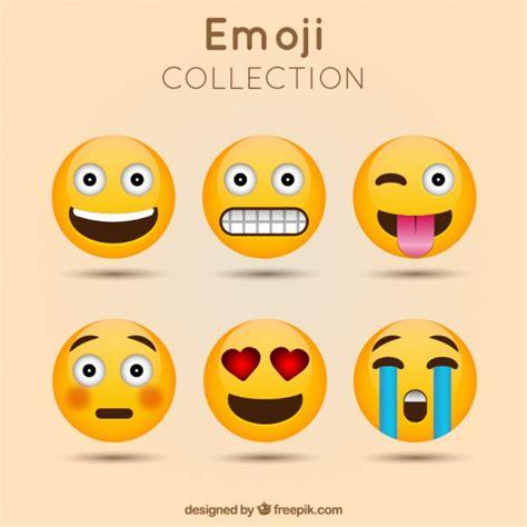 emoji vector free decorative emoji collection vector free download