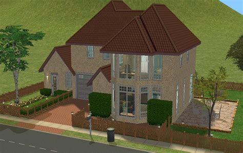 2 family house mod the sims cosy living family house