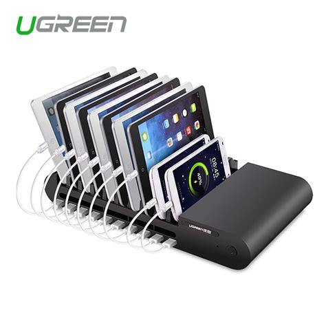 multi usb charger ugreen 96w universal 10 port multi usb charger station