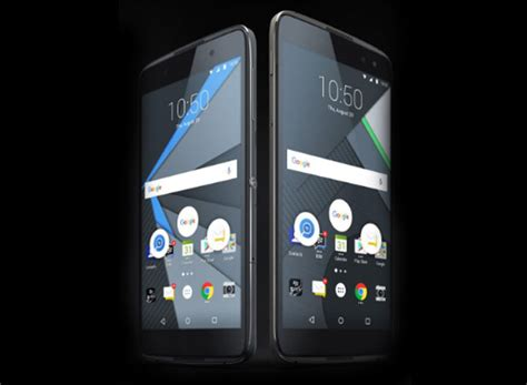 blackberry android mobile blackberry launches android powered smartphones dtek50 and