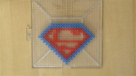 perler superman perler bead superman