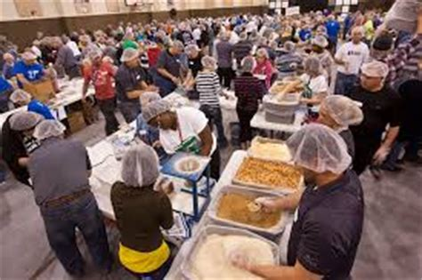 help other countries through feed my starving children