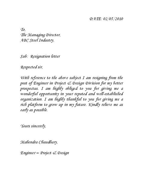 Resignation Letter Sle With Reason Better Opportunity Pdf Best Photos Of Better Opportunity Resignation Letter Patient Referral Thank You Letter Sles